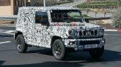 Long Wheelbase Maruti Suzuki Jimny Spied Front Qua