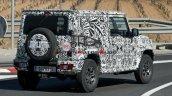 Long Wheelbase Maruti Suzuki Jimny Spied Rear Quar