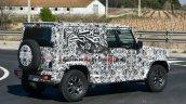 Long Wheelbase Maruti Suzuki Jimny Spied Side Prof