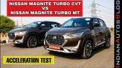 Nissan Magnite Turbo Mt Vs Cvt