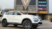 2021 Tata Safari Modified Front 3 Quarters 1