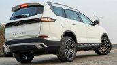 2021 Tata Safari Modified Rear 3 Quarters