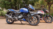 2021 Bajaj Pulsar 150 Twin Disc Blue Front Right