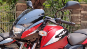 2021 Bajaj Pulsar 150 Twin Disc Red Front Left