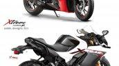 Hero Xtreme 160r Sportbike Render