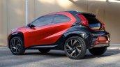 Toyota Aygo X Prologue Concept Rear Quarter