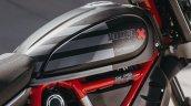 Ducati Scrambler Desert Sled Fasthouse Tank Closeu