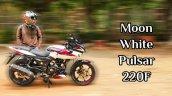 2021 Bajaj Pulsar 220f White Featured Img