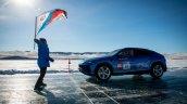 Lamborghini Urus Top Speed On Ice Flag Off 3