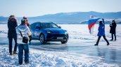 Lamborghini Urus Top Speed On Ice Flag Off