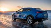 Lamborghini Urus Top Speed On Ice Rear Quarter 2