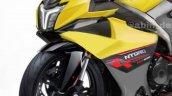 Tvs Ntorq Sportbike Rendering Front Left