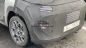 Hyundai Ax1 Spied Alloy Wheels