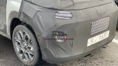 Hyundai Ax1 Spied Alloy Wheels