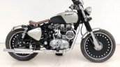 Royal Enfield 350 Softtail Bobber By Rideofy Side