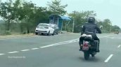 New Royal Enfield Classic 350 Spied Rear