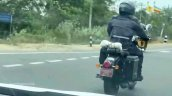 New Royal Enfield Classic 350 Spied Rear Quarter