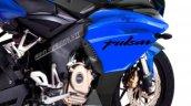 Bajaj Pulsar Ns200 Sportbike Render Closeup
