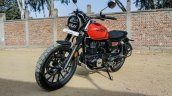 Front Side Look Of Honda Cb350rs