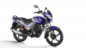 Tvs Star City Plus Blue Silver Front Right