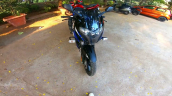 2021 Bajaj Pulsar 220f Blue Front
