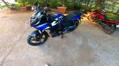 2021 Bajaj Pulsar 220f Blue Front Left