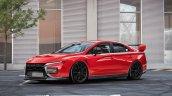 Mitsubishi Lancer Evo Xi Rendering Front 3 Quarter