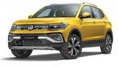 Volkswagen Taigun Front Quarter