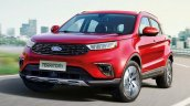 Ford Territoryb Front Quarter 2