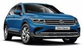Volkswagen Tiguan Facelift Front Quarter