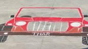 Mahindra Thar Rangoli World Record 3