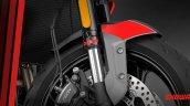 Triumph Trident 660 Front Suspension
