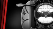 Triumph Trident 660 Headlamp Closeup