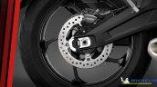 Triumph Trident 660 Rear Wheel