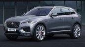 2021 Jaguar F Pace Facelift Front Quarter 2