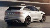2021 Jaguar F Pace Facelift Rear Quarter