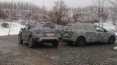 Dacia Grand Duster Spied