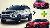 Tata Nexon Outsells Nissan Magnite And Renault Kig