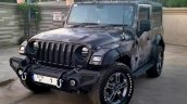 Modified Mahindra Thar Camo Front 3 Quarters 2