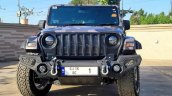 Modified Mahindra Thar Camo Front View