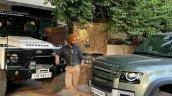Satinder Sartaaj Land Rover Defender Front 3 Quart