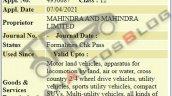 2022 Mahindra Xuv400 Trademark