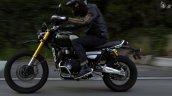 2021 Triumph Scrambler 1200 Left Action