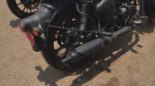 New Royal Enfield Classic 350 Spy Shot Exhaust