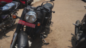 New Royal Enfield Classic 350 Spy Shot Front Left