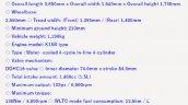 Maruti Jimny 5 Door Specifications