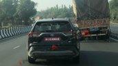 Toyota Rav4 Spied Rear View 1