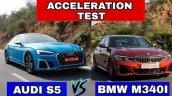 Audi S5 Sportback Vs Bmw M340i Acceleration