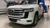 2022 Toyota Land Cruiser Leaked Front 3 Quarters