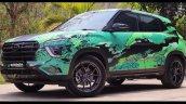 Hyundai Creta Modified Front 3 Quarters